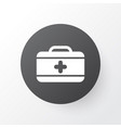 first aid kit icon symbol premium quality vector image