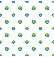 flight around world pattern seamless vector image