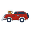 mechanic clockwork car toy for children vector image vector image