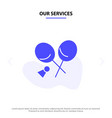 our services badminton racket sports spring solid vector image vector image