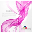 Pink modern abstract lines vector image vector image