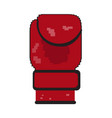 pixelated boxing glove vector image