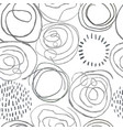 seamless pattern with slate pencil hand drawn vector image vector image