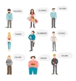Support Group People vector image