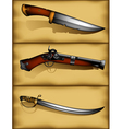 ancient weapons vector image