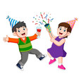 an adults people is celebrating anniversary party vector image