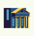 Banking Office vector image vector image