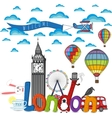 City London composition vector image