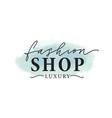 fashion shop logo luxury