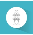 high voltage power electricity symbol vector image