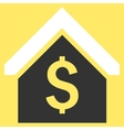 Loan Mortgage Flat Icon vector image vector image
