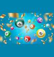 lottery balls 3d bingo lotto or keno games