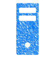 server mainframe grunge icon vector image vector image