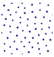 simple blueberry pattern vector image vector image