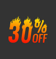 special offer up to 75 off vector image
