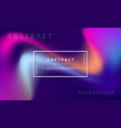 trendy abstract liquid background vector image vector image