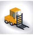 truck isometric design vector image