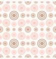 Abstract seamless pattern with rings and circles