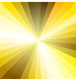 Gold Light Ray Abstract Background vector image vector image