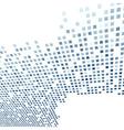 Modern tile background template in dark blue vector image vector image
