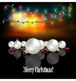 Abstract celebration background with white vector image