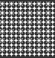abstract seamless pattern of circles with dots vector image vector image