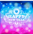 New Year Mosaic Pattern vector image