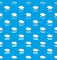 rain pattern seamless blue vector image vector image