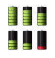 Rechargeable Batteries for Electronic Devices vector image