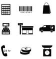 Retail icon set