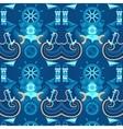 seamless pattern sea vector image vector image