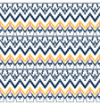 tribal ethnic ikat folklore pattern african folk vector image vector image