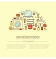 BATHROOM-END vector image vector image