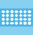 blank frame label vintage empty badge shapes vector image vector image