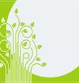 branch green card 01 vector image vector image