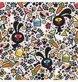 drunk bunny wallpaper vector image vector image