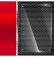 Elegant metallic background vector image vector image