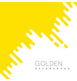 golden irregular rounded lines background vector image vector image