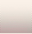 monochrome halftone gradient with gears vector image