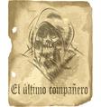 Old manuscript vector image