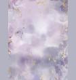 purple watercolor fluid painting design vector image vector image