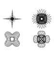 Spirograph elements2 vector image vector image