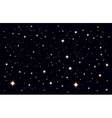 Starry sky Stars in the night sky vector image vector image