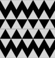 triangle pattern zigzag vector image vector image
