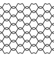 net seamless pattern vector image
