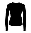 Black shirt vector image
