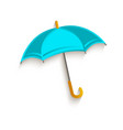 cartoon umbrella symbol vector image