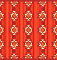 ethnic ornamental pattern in red vector image vector image