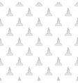 muslim grave pattern seamless vector image vector image