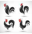 Rooster2 vector image vector image